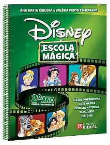 Coleção Disney Escola Mágica 1º ao 5º Ano - Rideel