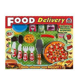 Pizza em Plástico Food Delivery Pizza - Braskit