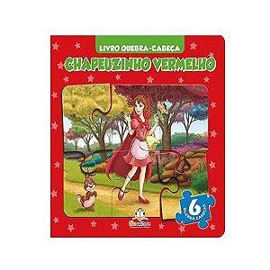 Livro Quebra-cabeça Chapeuzinho Vermelho - Blu Editora
