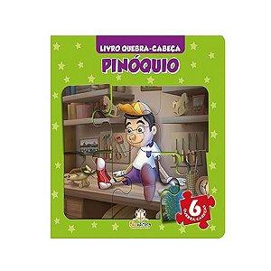 Quebra-cabeça Pinóquio - Blu Editora