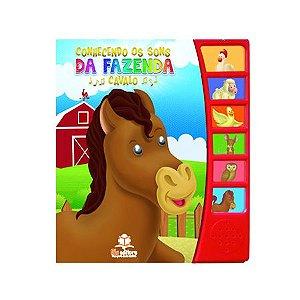 Livro Sonoro Conhecendo Os Sons da Fazenda Cavalo - Blu Editora