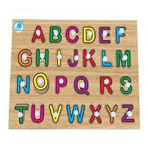 Quebra-Cabeça com Pinos Alfabetização - Simque