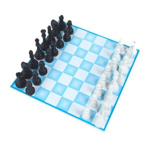 Jogo de Xadrez 20 x 20 cm - Carlu