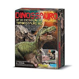 Kit de Escavação de Esqueleto Dinossauro Tiranossauro Rex - 4M