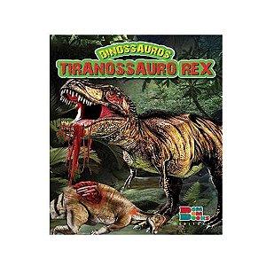 Livro Dinossauros Tiranossauro Rex com Miniatura Articulada - Bom Bom Books