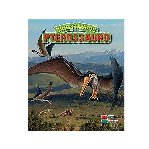 Livro Dinossauros Pterossauro com Miniatura Articulada - Bom Bom Books