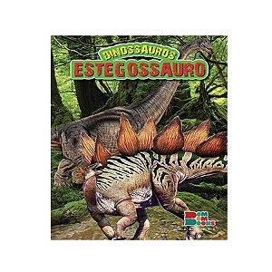 Livro Dinossauros Estegossauro com Miniatura Articulada - Bom Bom Books