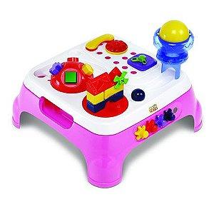 Mesa Maxi Atividades Rosa com Som e Luzes - Magic Toys