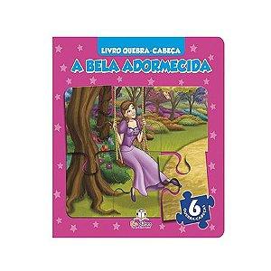 Livro Quebra-cabeça A Bela Adormecida - Blu Editora