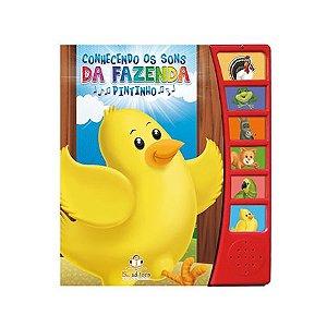 Livro Sonoro Conhecendo Os Sons da Fazenda Pintinho - Blu Editora