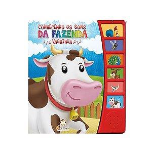 Livro Sonoro Conhecendo Os Sons da Fazenda Vaquinha - Blu Editora