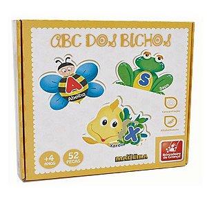 Quebra-cabeça ABC dos Bichos - Brincadeira de  Criança