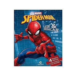 Livro Quebra-cabeça Homem Aranha - Culturama