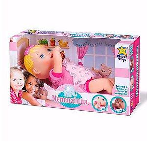 Boneca Nenenzinha Branca - Divertoys