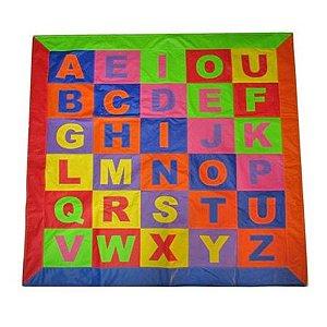 Tapetão do Alfabeto em Corino 2m x 2m