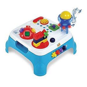 Mesa Maxi Atividades Azul com Som e Luzes - Magic Toys