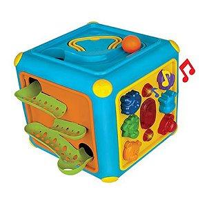 Cubo Gigante Atividades com Som e Luzes - Magic Toys