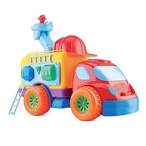 Caminhão Diver For Baby Bombeiro - Divertoys