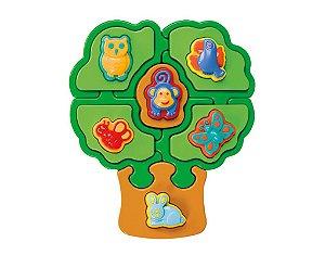 Puzzle Mania Árvore Quebra-cabeça Formas Didáticas - Calesita