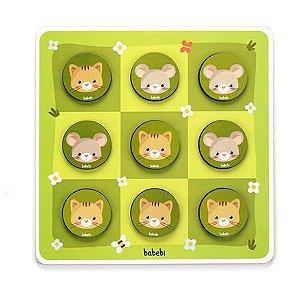 Jogo da Velha Entre Gato e Rato - Babebi