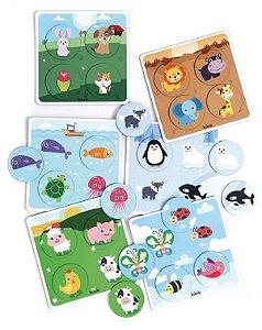 Super Bingo dos Animais Cartonado - Babebi