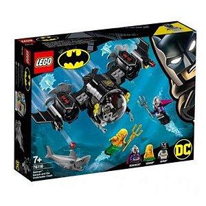 Lego O Batsubmarino de Batman e o Confronto Subaquático