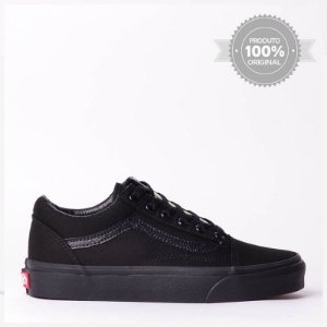 Tênis Vans Old Skool All Black