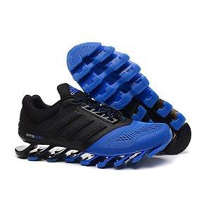 Tênis Adidas Springblade Drive 3 Preto e Azul