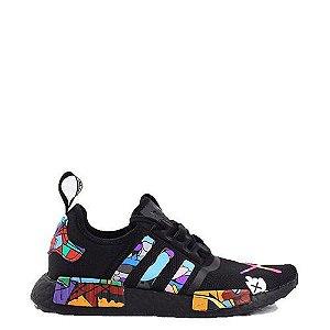 Tênis Adidas NMD R1 X Kaws Black