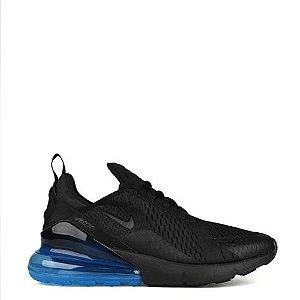 Tênis Nike Air Max 270 Black Loyal Blue