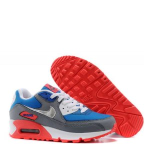 Tênis Nike Air Max 90 Essential Cinza e Azul