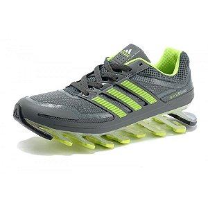 Tênis Adidas Springblade Cinza Verde