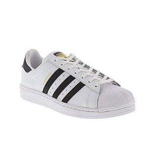 Tênis Adidas Superstar Foundation Branco e Preto