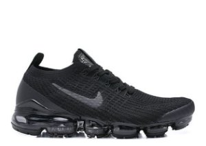 Tênis Nike Air VaporMax Flyknit 3 - Triple Black
