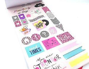 Sticker Book Grande Cool