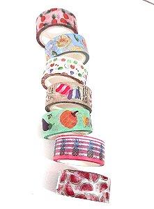 Washi Tape Frutinhas e Comidinhas