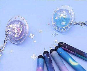 Caneta Planeta Glitter