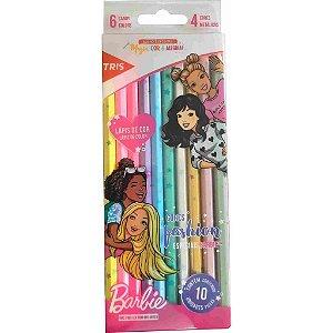 Kit Lápis de cor Barbir Metalizado e Candy Color