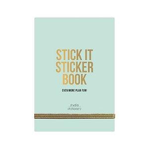 Sticker Book Luxo Studio Verdinho