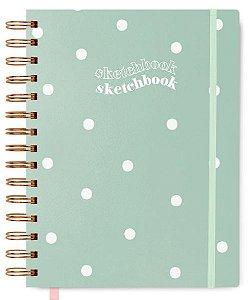 Sketchbook Verdinho (Caderno Sem Pauta)