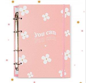 Caderno Argolado Rosa You Can