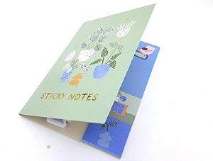 Sticky Notes Luxo Importado Garden