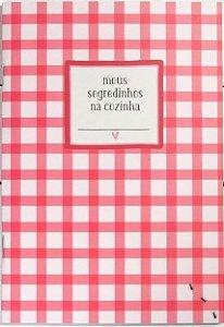 """Caderninho de Receitas """"Piquenique"""""""