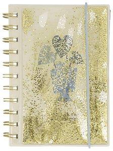 Caderno Luxo Glitter Hema