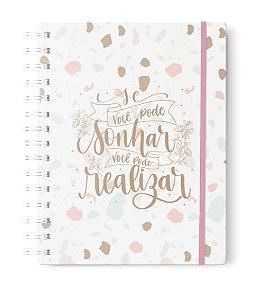 """Caderno """"Se você pode sonhar"""""""