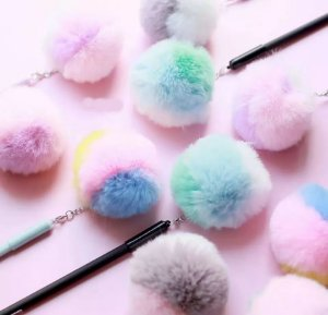 Caneta Pompom Candy Color