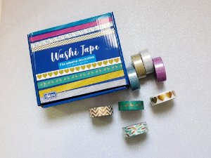Washi Tape Tilibra Metalizada 10m