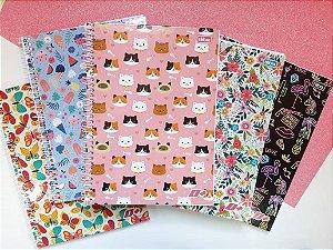 Caderno Flores e Bichinhos D+ Tilibra