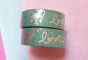 Washi Tape Cachorro Love