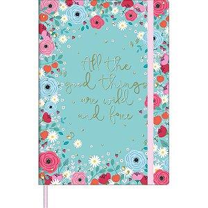 Caderneta Floral Sem Pauta